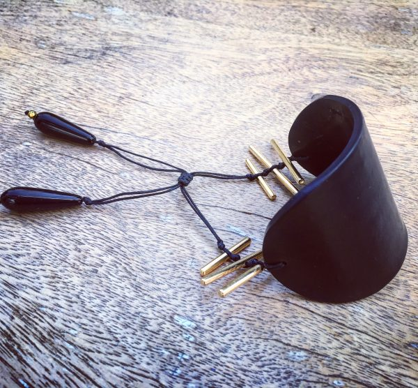 Cuff Bracelet black