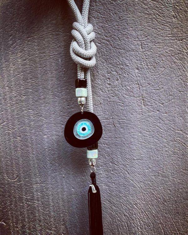 Lucky Charm 21 - Silver Cord & Evil Eye