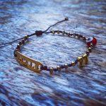 Lucky Charm 21 – Bracelet Amor Gold Hematite & Red Evil Eye